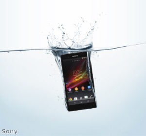 Sony announces waterproof Xperia ZR