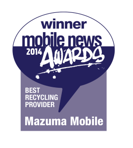 Mazuma Mobile wins Best Recycling Provider 2014