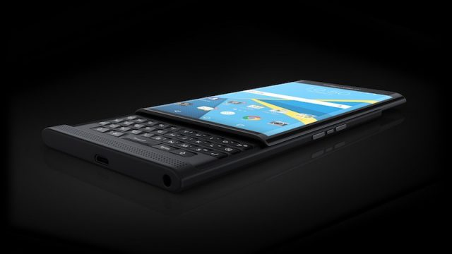 BlackBerry puts a novel twist on its keyboard with Priv