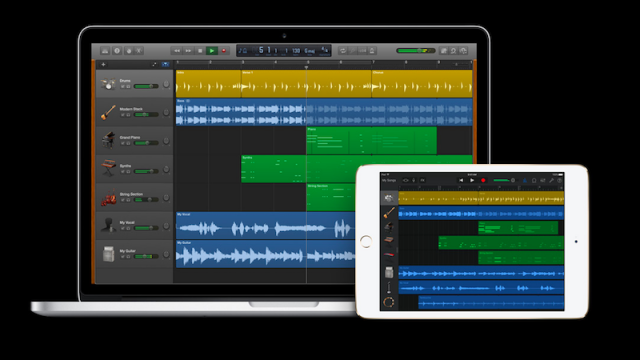 Apple launches new music apps to encourage music makers