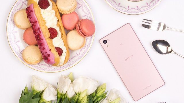 Sony releases pink version of Xperia Z5