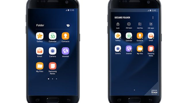 Samsung launches Secure Folder for Galaxy S7